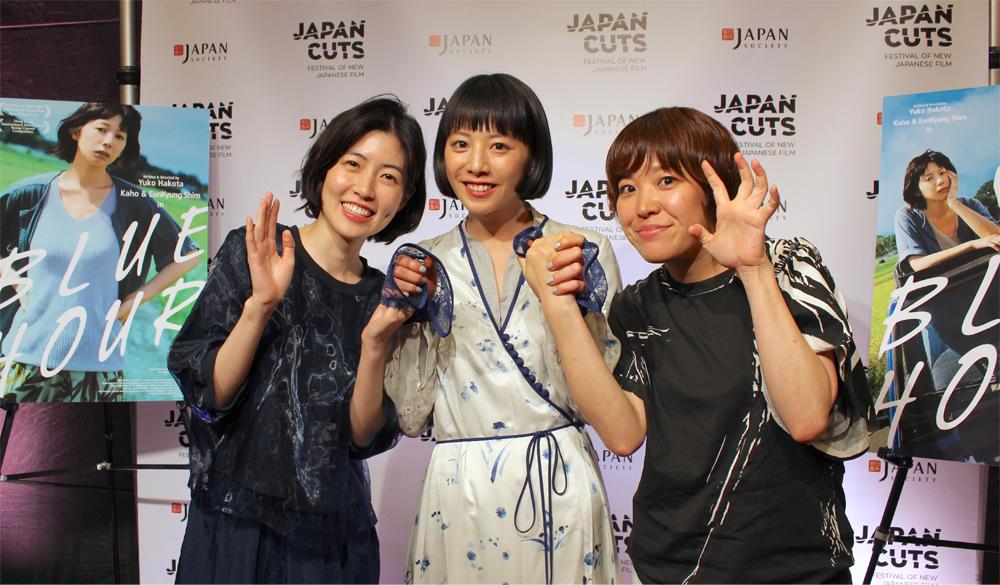 夏帆、シム・ウンギョン、箱田優子監督が北米プレミアに出席! 映画『ブルーアワーにぶっ飛ばす』公式上映レポート