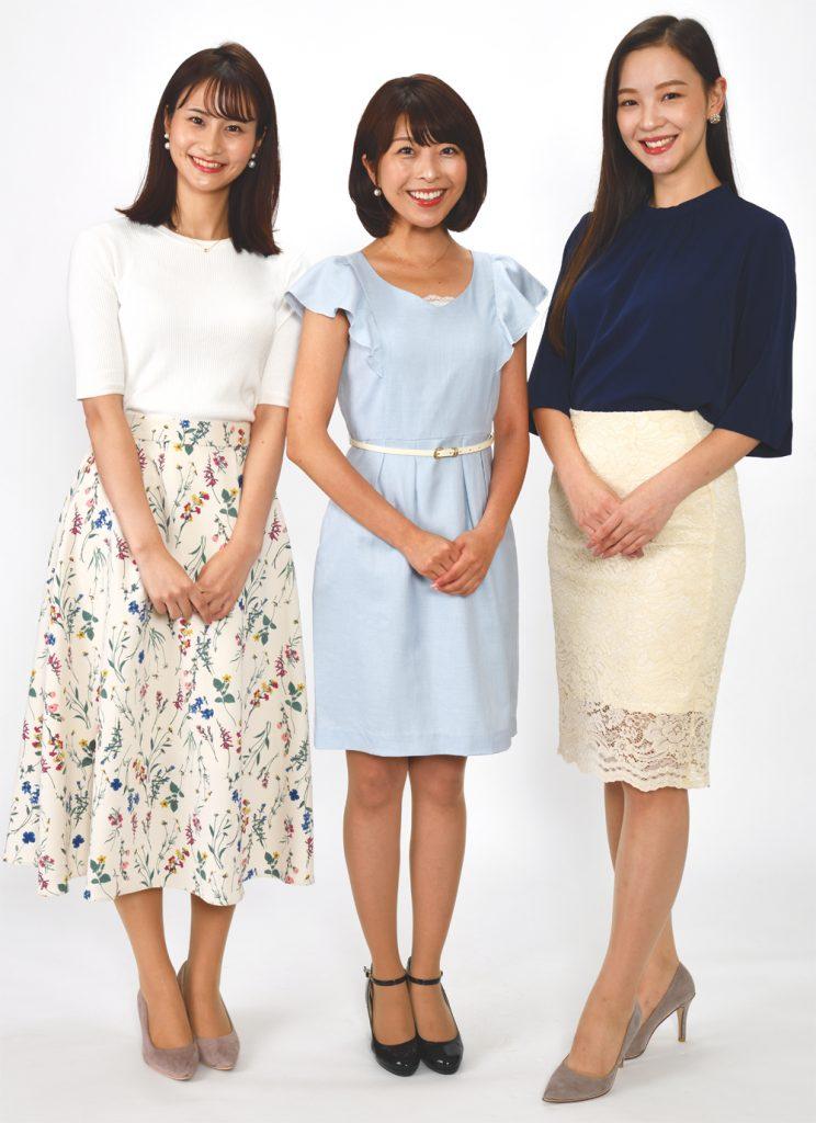 チバテレ朝の情報番組「シャキット!」に新MCが加入! 佐田志歩、小尾渚沙、岡田ゆり子を加えて9月30日から放送開始