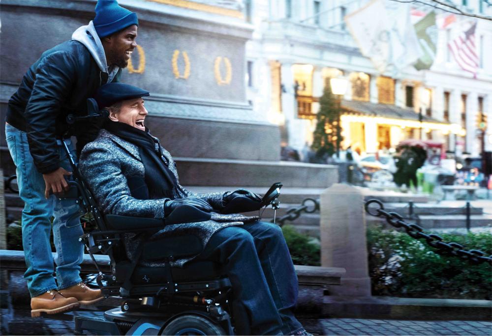スラム街出身の無職の男×全身麻痺の大富豪の間に生まれた友情 映画『THE UPSIDE/最強のふたり』12/20より全国公開