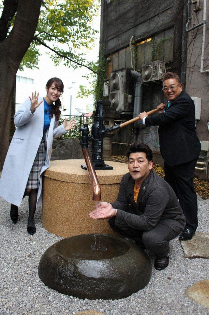 大プロジェクト始動!果たして水は出る!? 今回は新宿・花園神社や中野で。果たして…!?「新宿に井戸を掘る!」