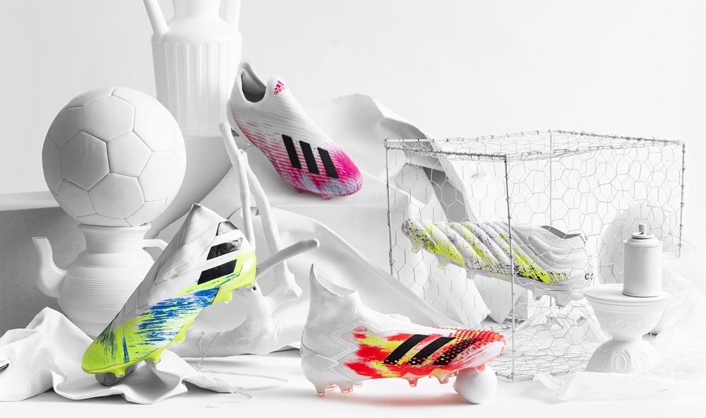 アディダスサッカースパイク『UNIFORIA PACK』に新色登場! サッカーがもたらす団結と幸福感をデザイン