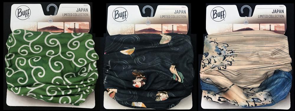 スペイン・バルセロナmadeのネックウェア「Buff」 日本をデザインした別注シリーズが発売!